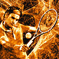 Roger Federer Clay by RochVanh