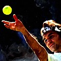 Roger Federer Tennis 1 by Lanjee Chee