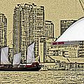 Roger's Centre And Tall Ship by Nina Silver