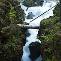 Rogue River Falls 1 by John Brueske