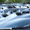 Rogue River Falls 9 by John Brueske