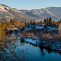 Rogue River Winter by Mick Anderson