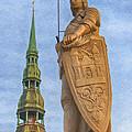 Roland Of Riga Painting by Antony McAulay