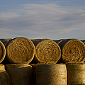Rolled Hay   #1056 by J L Woody Wooden
