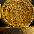 Rolled Hay   #1074 by J L Woody Wooden
