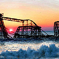 Roller Coaster After Sandy by Tony Rubino