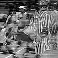 Women's Roller Derby Motion Blur by Venetia Featherstone-Witty