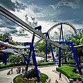 Rollercoaster Amusement Park Ride by Alex Grichenko