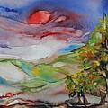 Rolling Hills - Spring Morning by Carol Schindelheim