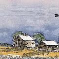 Rolling Plains Homestead by Tim Oliver