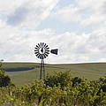 Rolling Plains Windmill by Bonfire Photography