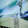 Rolls-royce Hood Ornament -782c by Jill Reger