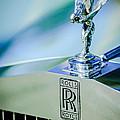 Rolls-royce Hood Ornament -782c by Jill Reger