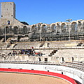Roman Amphitheater In Arles by Laurel Talabere