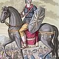 Roman Cavalryman Of The State Army by Jacques Grasset de Saint-Sauveur