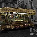 Roman Confectionary Cart by James Lavott