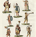 Roman Foot Soldiers by Splendid Art Prints