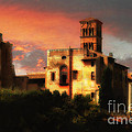 Roman Forum At Sunset by Mike Nellums