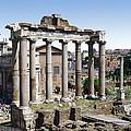 Roman Forum by Ellen Henneke