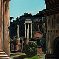Roman Forum by Nancy Bradley