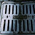Roman Manhole Cover by Eric Tressler