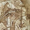 Roman Prison by Giovanni Battista Piranesi