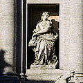 Roman Statue by Mark Greenberg