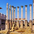 Roman Temple In Cordoba by Karol Kozlowski