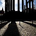 Roman Temple Silhouette by Jose Elias - Sofia Pereira