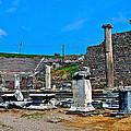 Roman Theatre In Pergamum-turkey  by Ruth Hager