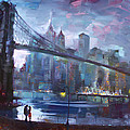 Romance By East River II by Ylli Haruni