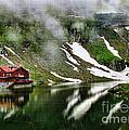 Romanian Glacier Lake by Daliana Pacuraru