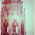 Romantic Cathedral Architectural Details Photograph by Laura Carter