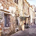 Romantic Chania Street by Sophie McAulay