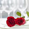 Romantic Dinner Setting by Elena Elisseeva