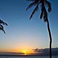 Romantic Maui Sunset by Joann Copeland-Paul