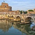 Rome Castel Sant Angelo 01 by Antony McAulay
