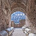 Rome Colosseum Interior 01 by Antony McAulay