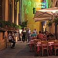 Rome Italy Accordion Serenade by Joseph Semary