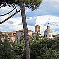 Rome Italy Cityscape by Joseph Semary