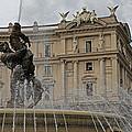 Rome Italy Fountain Naiads by Joseph Semary