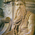Rome, Italy. Michelangelos Moses by Ken Welsh