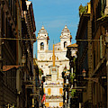 Rome, Italy. View Along Via Dei by Panoramic Images