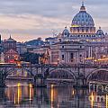 Rome Saint Peters Basilica 01 by Antony McAulay