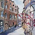 Rome Street Scene IIi by Mary Benke