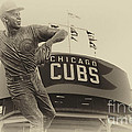 Ron Santo Chicago Cub Statue In Heirloom Finish by Thomas Woolworth