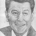 Ronald Reagan by Bryan Bustard