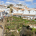 Ronda Old City In Spain by Artur Bogacki