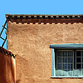 Roof Corner With Ladder And Window by Nikolyn McDonald