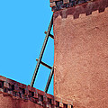 Roof Corner With Ladder by Nikolyn McDonald